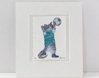 Hibernian 'Hibs' Cat