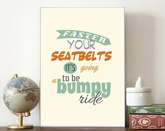 All About Eve, Fasten your seatbelts, Movie print, Film quote, Typography, Famous movie lines,  Movie quote, Typographic Print, Posters