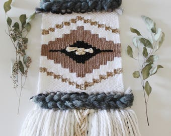 TEKTITE Woven Wall Hanging // Weaving / Wall Art / Woven Wall Art / Fiber Art