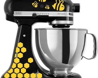 The Bee's Knees KitchenAid vinyl decal stickers