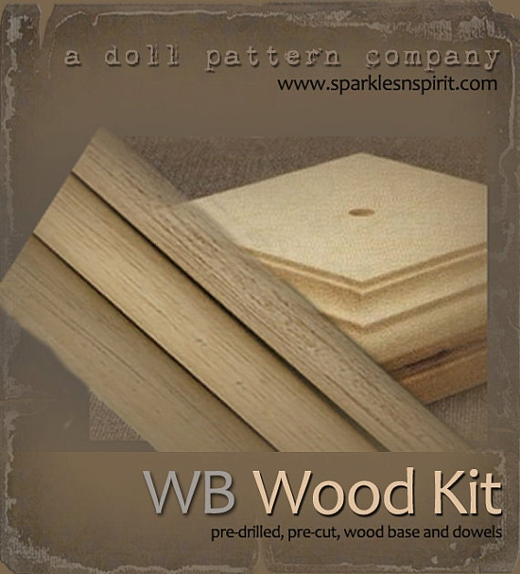 Woodkit - WB50 for Doll patterns by Sparkles n Spirit