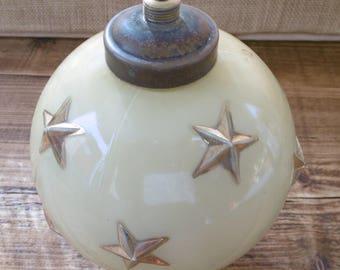 French Art glass lamp base