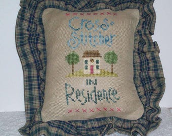 Cross Stitcher in Residence