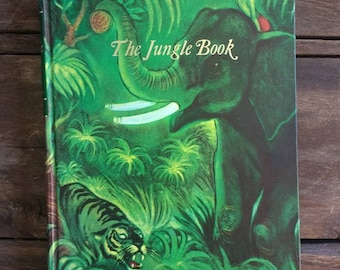 The Jungle Book, by Rudyard Kipling, Illustrated Junior Library Edition 1977