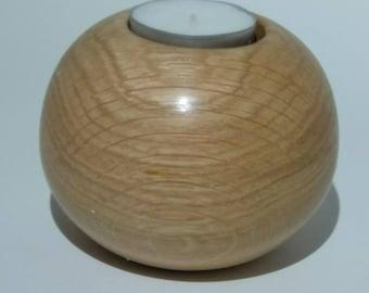 Reclaimed Oak tea light holder