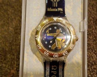 Vintage Swatch 1996 Olympics - Scuba 200