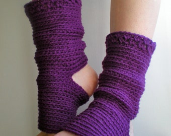 PATTERN:  Yoga Socks, Dance, Pilates, Ballet, Leg Warmers, easy crochet PDF, ankle, slouchy, dancer, InStaNT DowNLoaD, Permission to Sell