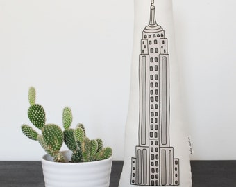 Empire State Building Plush Toy, Stuffed Animal
