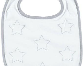 Bib top range stars embroidered for birthday gift