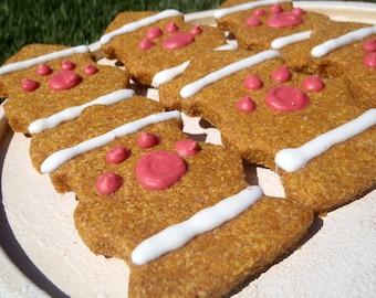 Dog Treats - Fire Fidos - All Natural Dog Treats Organic Fire Hydrant Cookies - Shorty's Gourmet Treats
