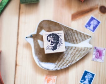 Anatomy series: Bandaged Head - decorative wooden planner stamp suitable for planning, journaling and happy mail -BHW-