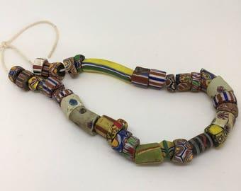 Venetian Glass African trade beads
