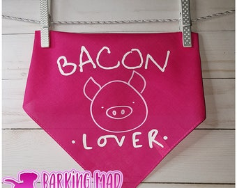 Dog Bandana - Bacon Lover