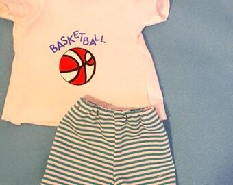 18inch doll basketball uniform number 67