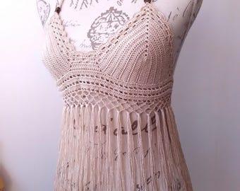 crochet top, handmade crochet, festival crochet top, halter top, crop top, boho crochet, alternative wear, summer crochet lace