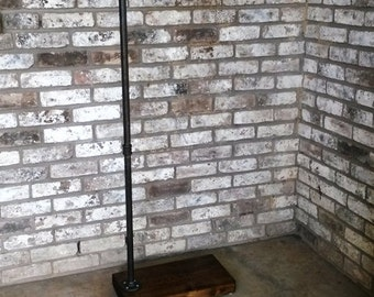 Clothing rack, C stand, garment rack, reclaimed wood, store fixture, made to order
