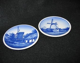 Royal Copenhagen Mini Plates or Plaquettes
