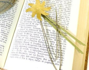 Bookmark sun shine,metal art,desk accessory,handmade metal bookmark,art sculpture,teachers/friends/kids gift idea,daily and practical object