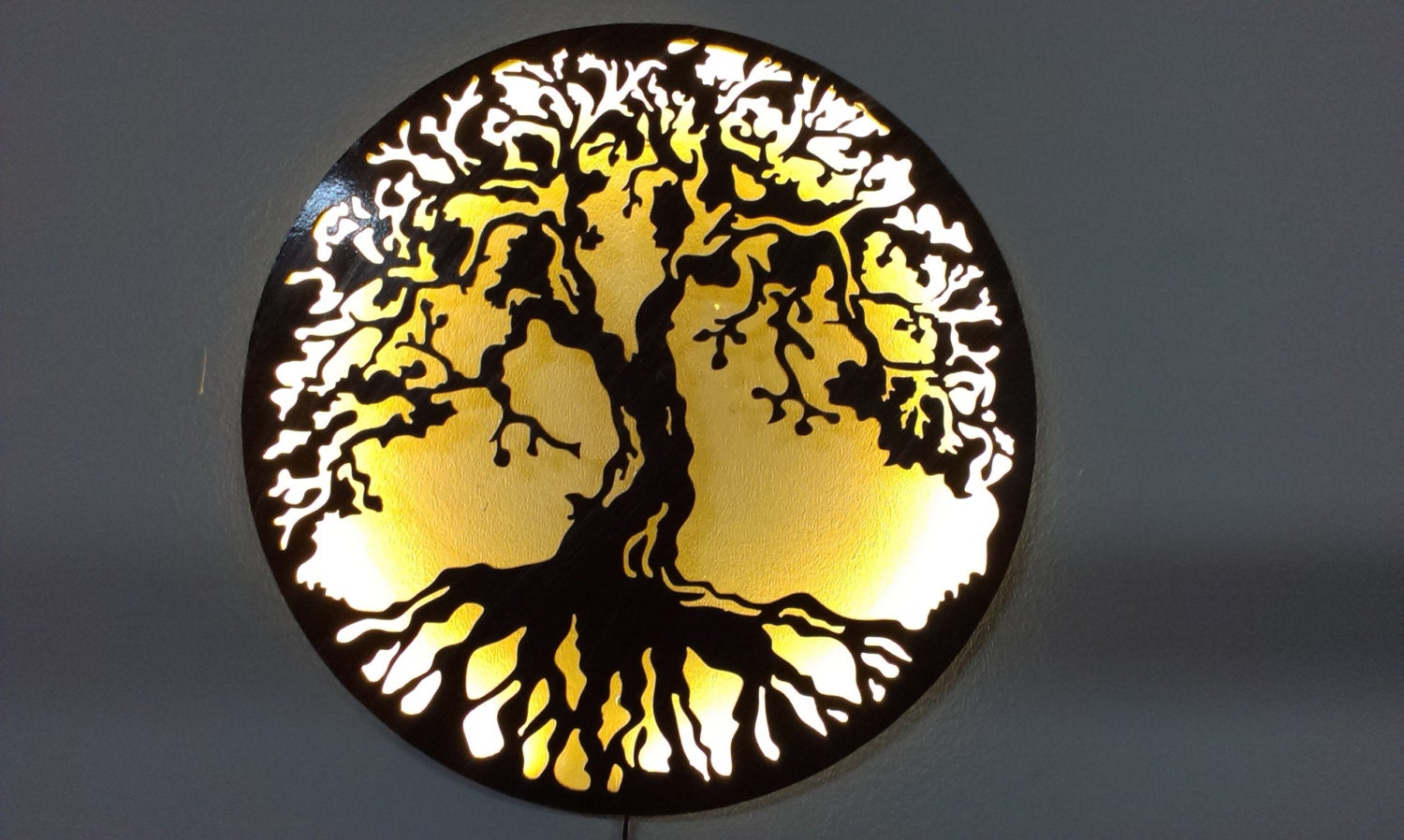 Delighted Led Wall Art Gallery - The Wall Art Decorations ...