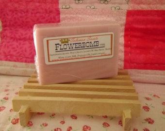 Flowerbomb type Shea Butter & Goats Milk Soap