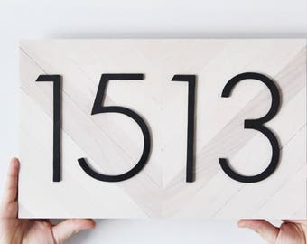 House Numbers, Address Plaque, Number Sign, Address Numbers, Address Sign, Beach Cottage Decor, Beach Cottage Sign, House Number Plaque