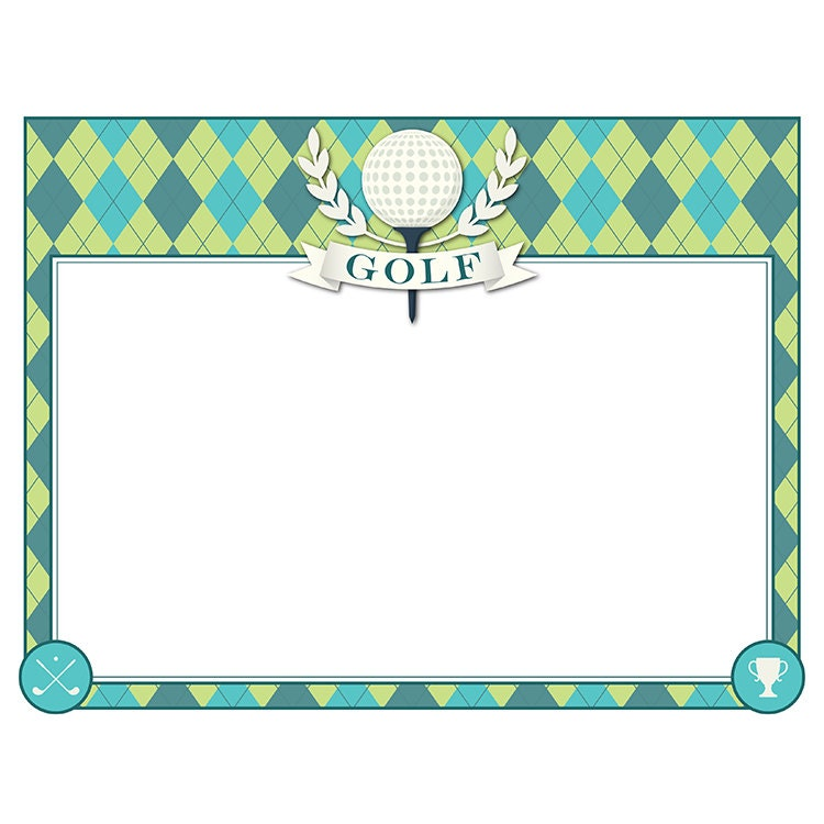 Golf certificate award border frame participation zoom yelopaper Choice Image