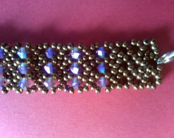 Purple and Brown bracelet