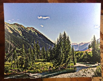 Winding River Note Card