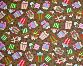 MAGASIN de vente de fermeture - tissu Moda, cerise sur le gâteau, chocolat, Keiki, tissu 100 % coton courtepointe, Cupcake, tissu à courtepointe