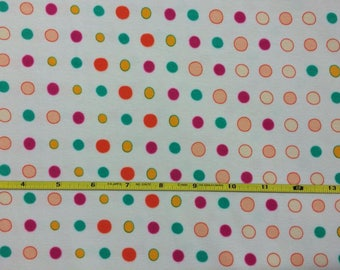 NEW Art Gallery Bonbons Joyful on cotton Lycra  knit fabric 1 yard.