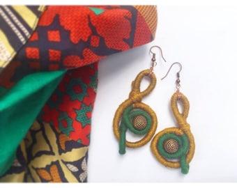 Lola's Onion Dyed Earrings