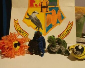 Tiny Harry Potter Mascots
