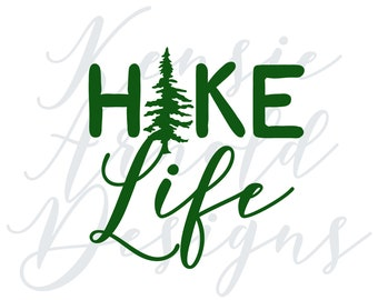 Hike Life Monogram Addition for Dog Bandana - Matte, Glitter & HOLO Options