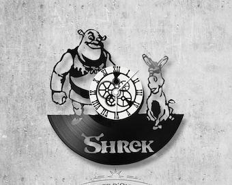 Vinyl 33 clock towers Shrek theme