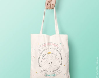 Hector paws organic cotton Tote Bag