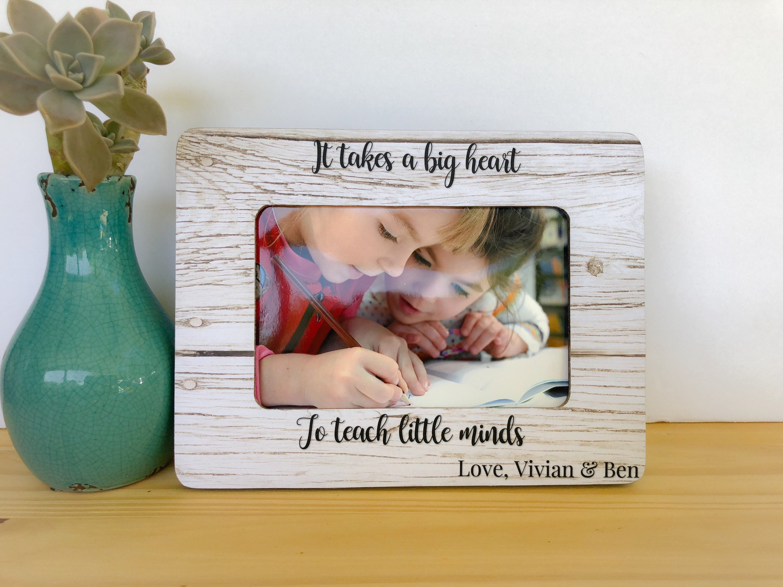 Personalisierte Lehrer Nanny danke Geschenk Babysitter Rahmen