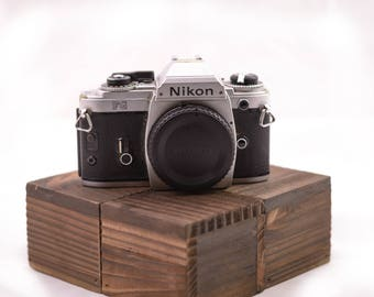 Nikon FG Chrome 35mm Film Camera