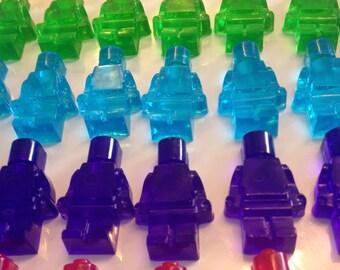 Mini Robot Men Soaps - Transparent - Fruity Fragrances