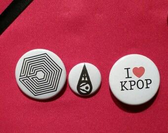 Exo button set