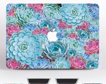 Succulents MacBook Pro 13 2017 Skin  MacBook Air MacBook Pro 15 Skin MacBook 13 Case MacBook Air 11 Decal For MacBook Sticker Laptop  DR3131