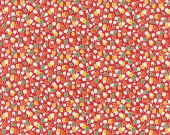 OOAK #1505 - 20 x 44 - Bread N Butter Red Tulip  Fabric by American Jane - 21691 18