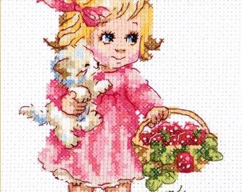 Cross Stitch Kit You're my cute kitten