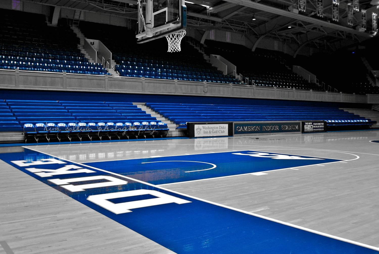Cameron Indoor Stadium 2 DurhamNorth Carolina-Fine Art