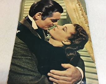 Classic movie memorabilia, The Story of Gone with the Wind by Bob Thomas 1967 widescreen 70mm release