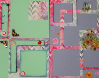 "12""x12""scrapbook pages - Bloom & Grow"