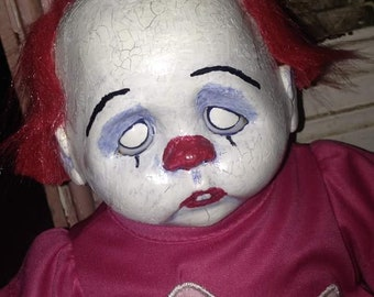15 inch Creepy Clown Doll