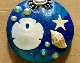 Pendant made from Poly clay