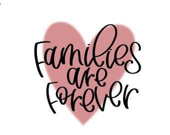 Families are Forever PDF