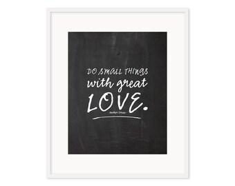 Do Small Things print