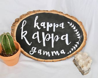 Sorority Wood Slice